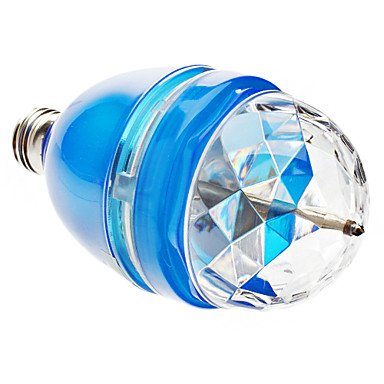 Sound Actived E27 3W Colorful Light Led Bulb For Disco Party Bars(85-265V,Blue)