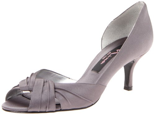 Nina Women's Culver-lS Dress Pump,Steel,11 M US