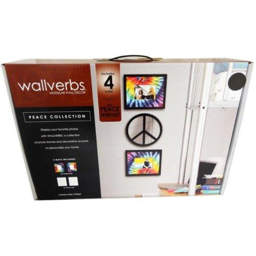 Wallverbs Peace Collection Modular Wall Decor Case Pack 2