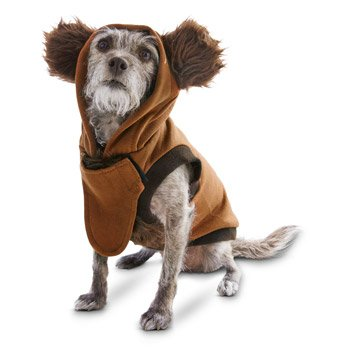 STAR WARS Halloween Ewok Dog Costume, X-Large