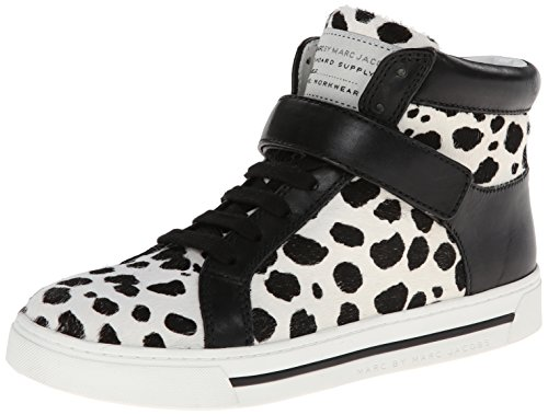Marc by Marc Jacobs Women's Cute Kicks Hi Top Fashion Sneaker,White Multi,41 BR/11 M US Marc by Marc Jacobs B00K85LYDO