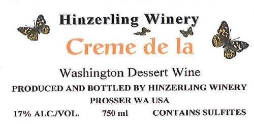 "Nv Hinzerling Winery ""Crème De La"" Cream Sherry 750 Ml"