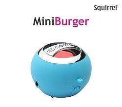 Squirrel Mini Burger Portable Speaker (Blue)