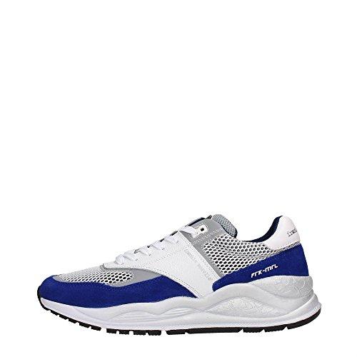 Frankie Morello 07CW Sneakers Uomo Tessuto Cobalto/White Cobalto/White 41