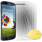 5x numia LCD Display Schutzfolie Für Samsung i9190 i9195 Galaxy S4 SIV mini (Glare Klar) mit Putztuch Screen Guard Protector Displayfolie Bildschirm Schutz Folie NEU