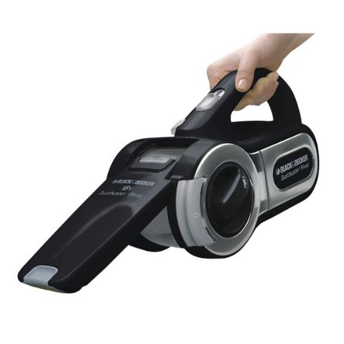 Black  &  Decker PV1805CN Limited Edition 18V Chrome Pivot Nose Dustbuster