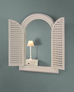 Mirror with shutters uk