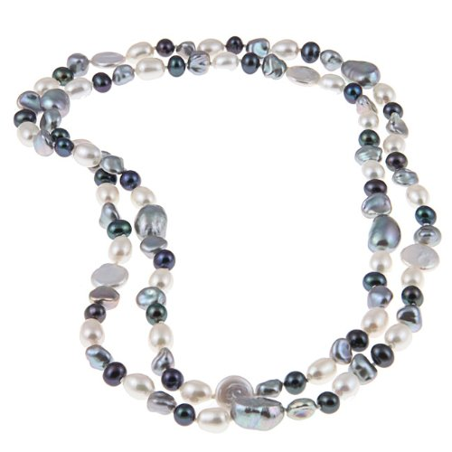 Freshwater Pearl 36-inch Endless Necklace (6-13 mm)