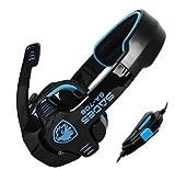 Afunta Sades Stereo Headset Headband SA-708 Game Earphone Bass Headphones with Microphone