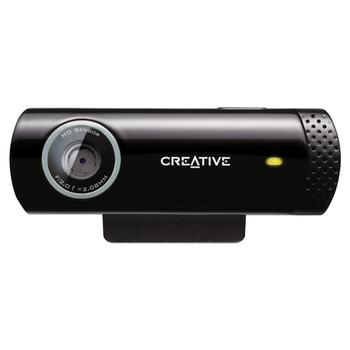 Creative Live! Cam Chat HD 720P, 5.7MP Webcam
