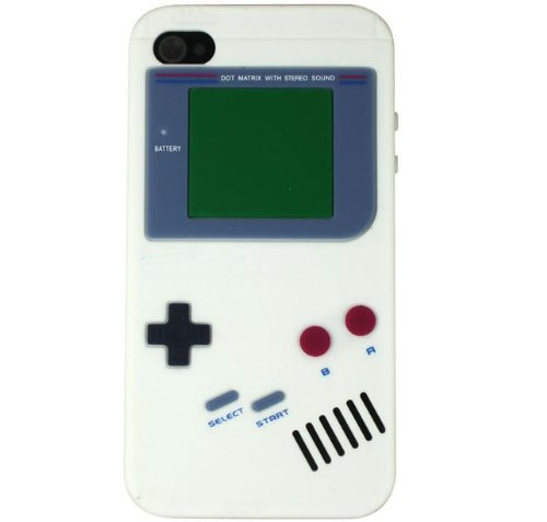 Nintendo Game Boy Gameboy Silicone Case For iPhone