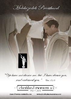 LDS Melchizedek Priesthood Ordination Tie Tac