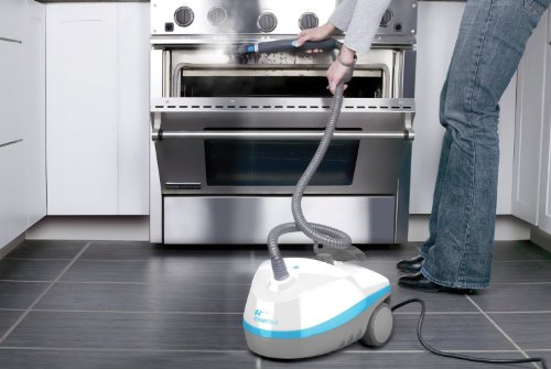 SteamFast Multi Purpose Steam Cleaner, with 15 Cleaning Atta