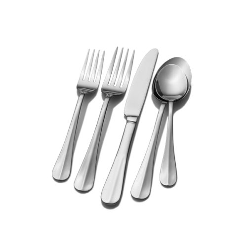Pfaltzgraff Everyday Simplicity 53-Piece Stainless Steel Flatware Set, Service for 8 (Service Silverware compare prices)