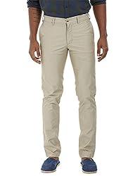 Zobello Men's Casual Twill Chino Pants(31120G_Hazel Wood_30)
