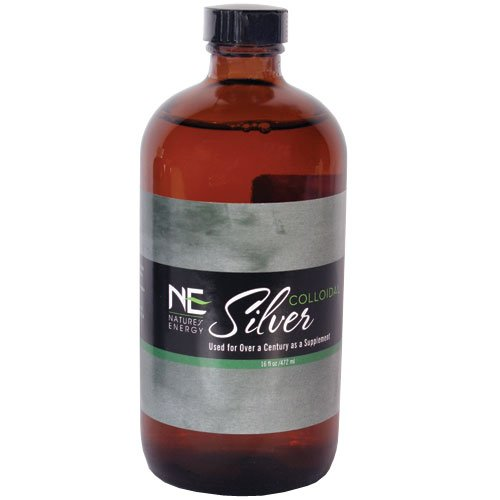 Colloidal Silver 40 ppm 16oz
