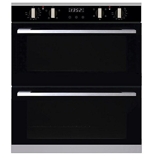 SIA R1 Built Under Multi Function Programmable Electric Double Fan Oven + Timer