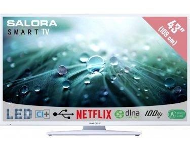 """Salora Salora 43LED9112CSW 43"""" Full HD Smart TV Blanc écran LED"""