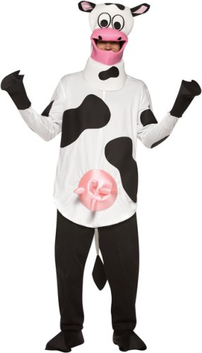 Adult Men's and Women's Cow Halloween Costume