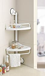 Unique Gadget Portable Suction Corner shelf for kichen - 1907CSFK