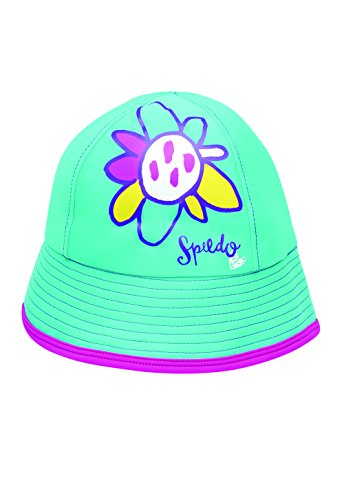Speedo Kids' UPF 50+ Bucket Hat, New Aqua, Large/X-Large