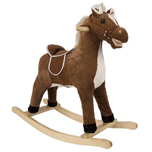 Rockin' Rider Brownie Rocking Horse - 1