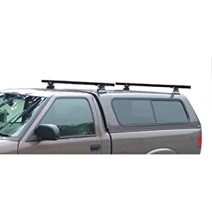 "Black Universal Pickup Topper M1000 Ladder rack w/ 60"" Bar Steel"