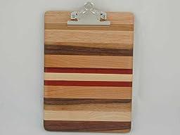 Hardwood Memo Clipboard
