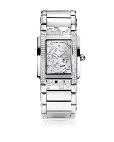 Chrono Diamond Orologio al Quarzo Woman 11110 Lenya Argentato 29 mm
