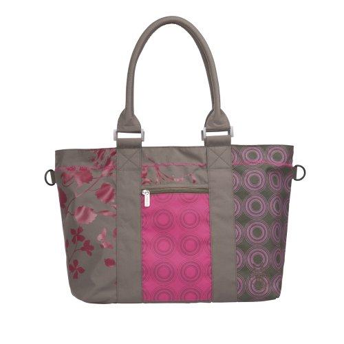 Lässig - LCS10231 - Sac à Langer - City Shopper Colorpatch - Olive / Rose