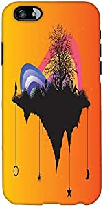 Snoogg Tree With Rainbow Designer Protective Back Case Cover For Apple Iphone...