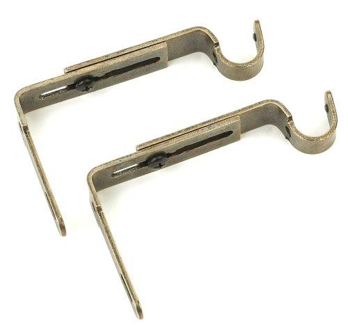 Umbra Adjustable Wall Bracket, Aged Brass