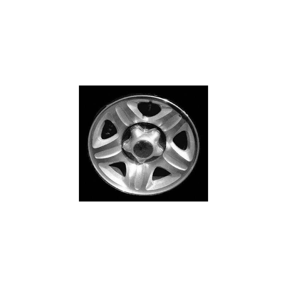 98 FORD EXPEDITION ALLOY WHEEL RIM 16 INCH SUV, Diameter 16, Width 7 (5 SPOKE), 14mm inset, MACHINED FACE. SILVER VENTS AND GROOVES, 1 Piece Only, Remanufactured (1998 98) ALY03257U10