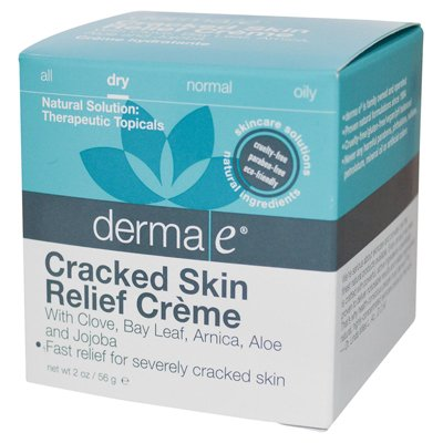 Derma E Cracked Skin Relief Creme - 2 oz Derma E Cracked Skin Relief Creme - 2 oz
