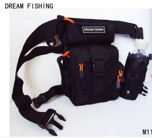Mugen Power @M11 Dream-Borsa da pesca,-Marsupio impermeabile in Nylon per attrezzatura da pesca, Borsa per esche da pesca
