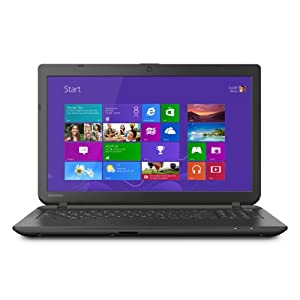 Toshiba Satellite C55-B5270 15.6 Inch Laptop (8GB Memory, 500GB Hard Drive, Intel Pentium N3530, Windows 8.1) by Toshiba