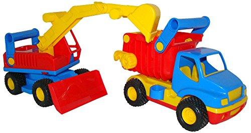 Cavallino 40855 - Construck Camion con Escavatore in Scatola