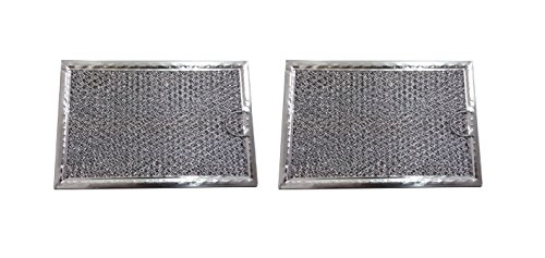 Grease Filter for Samsung Microwave 5 x 7 5/8 (2 pack) - NEW (Microwave Grease Filter Samsung compare prices)