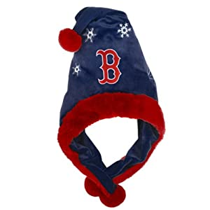 MLB Boston Red Sox Thematic Santa Hat by Forever Collectibles