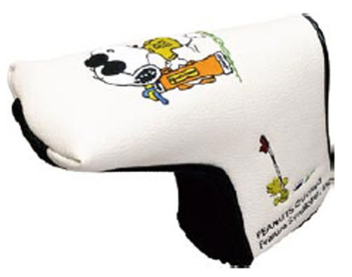 Snoopy Joe Cool L Type Putter Cover [Japan] front-925550