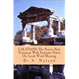 GALATIANS: The Source New Testament With Extensive Notes On Greek Word Meaningby Dr A Nyland