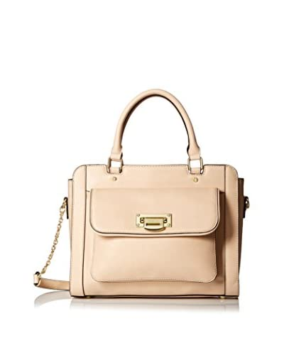 London Fog Women's Sheffield Satchel, Beech