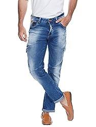 Spykar Men Denim DK.BLUE Jean (34)