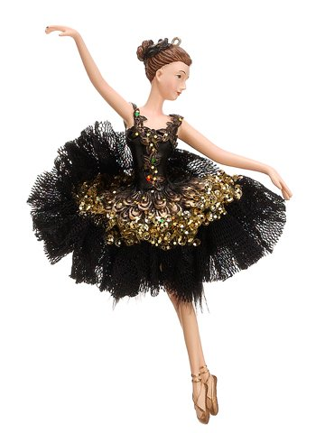 7 Seasons of Elegance Ballerina Ballet Dancer Christmas Ornament