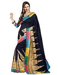 Stylelok Black Silk Designer Saree SL 175014200