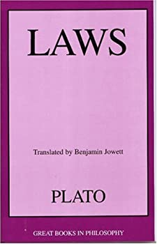"Cover of ""Laws: Plato (Great Books in Phi..."