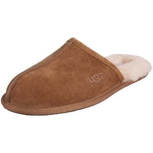 UGG Australia Men's Scuff Slippers Chestnut Size