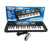 Mermaidtales Electronic Keyboard Musical Toy With Dc Power And Battery , Recording And Mic,37 Key