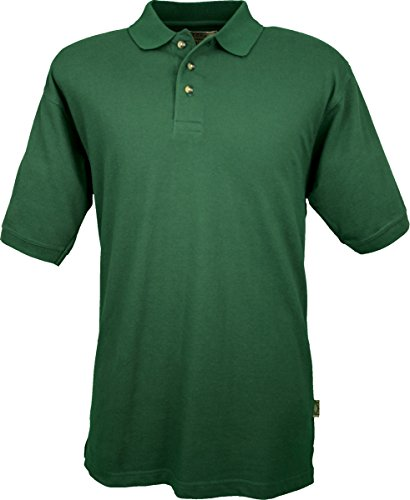 Colorado timberline men 39 s cambridge polo shirt vented for Forest green polo shirts
