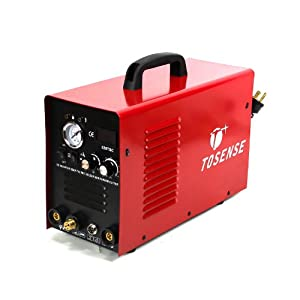 3-in-1 Welder Plasma Cutter TIG MMA Cut Stick Arc 110V 220V 520TSC without Pedal by Tosense